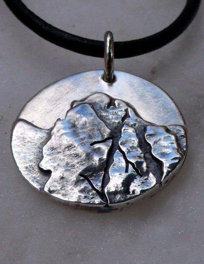 Colgante de montaña (Friero) en plata