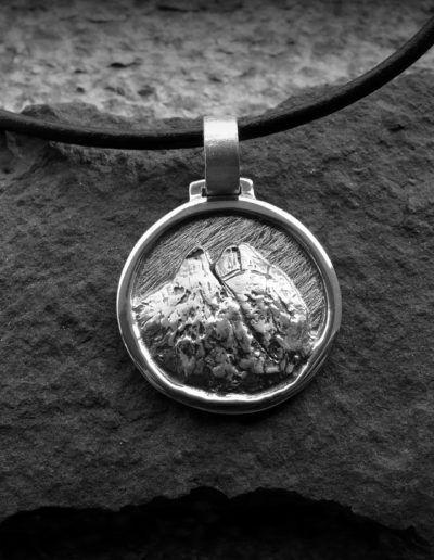 Colgante en plata del Midi D'Ossau